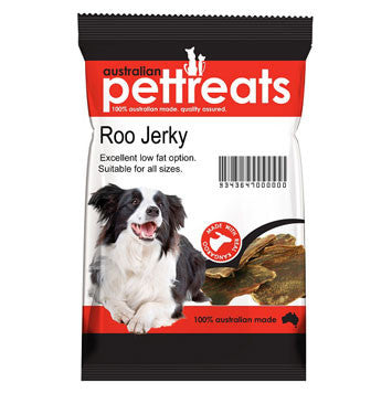 Australian Pet Treats Kangaroo Jerky 100g