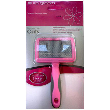 Euro Groom Slicker Cat Curved Soft Pin