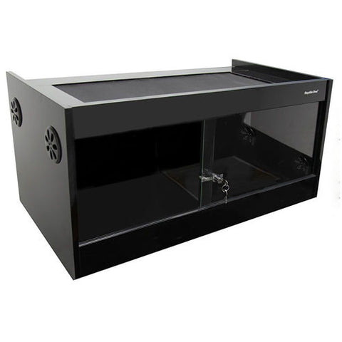 Reptile One Vivarium 120x60x60cm Black