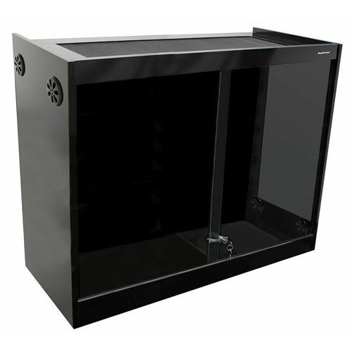 Reptile One Vivarium 120x60x120cm Black