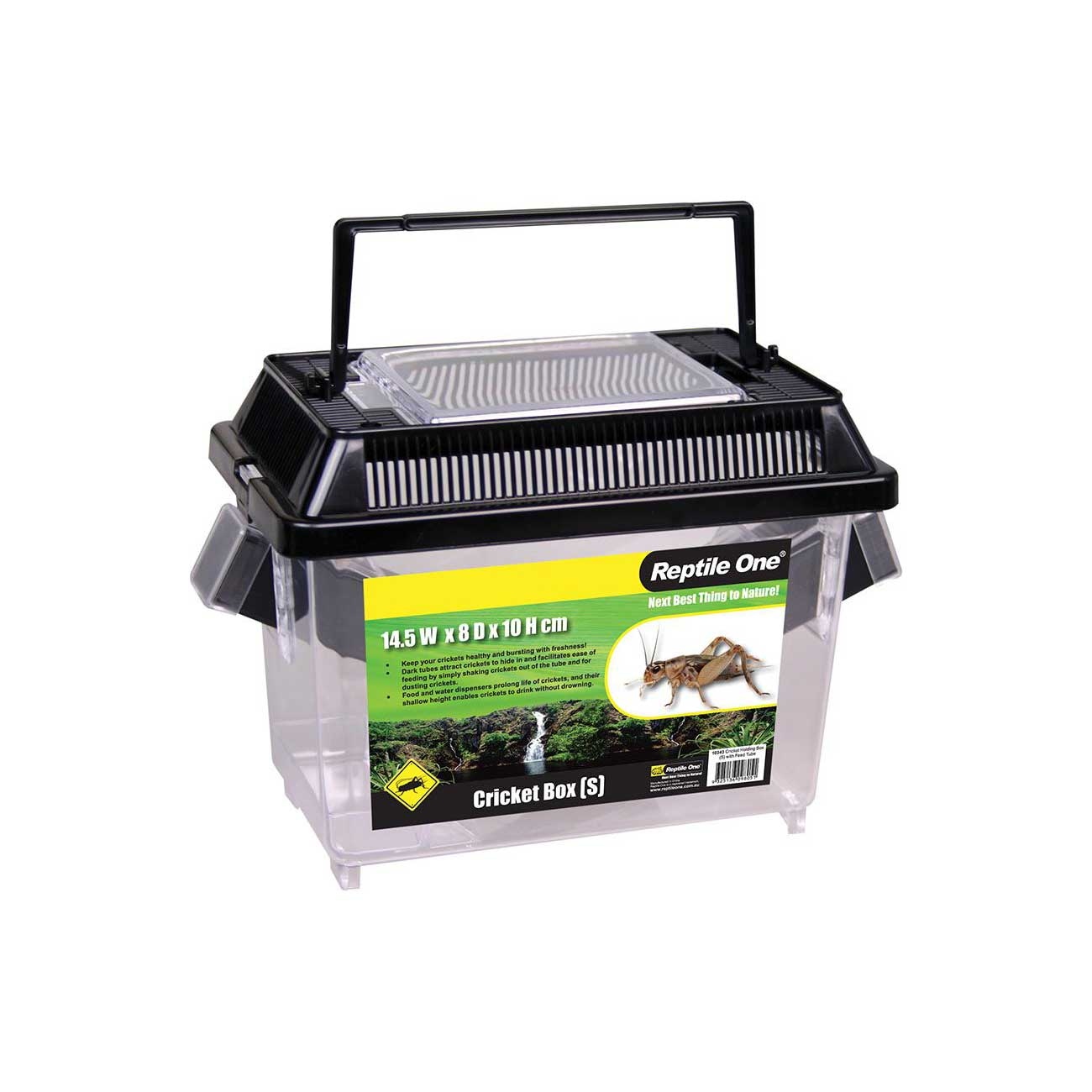 Reptile One Cricket Holding Box