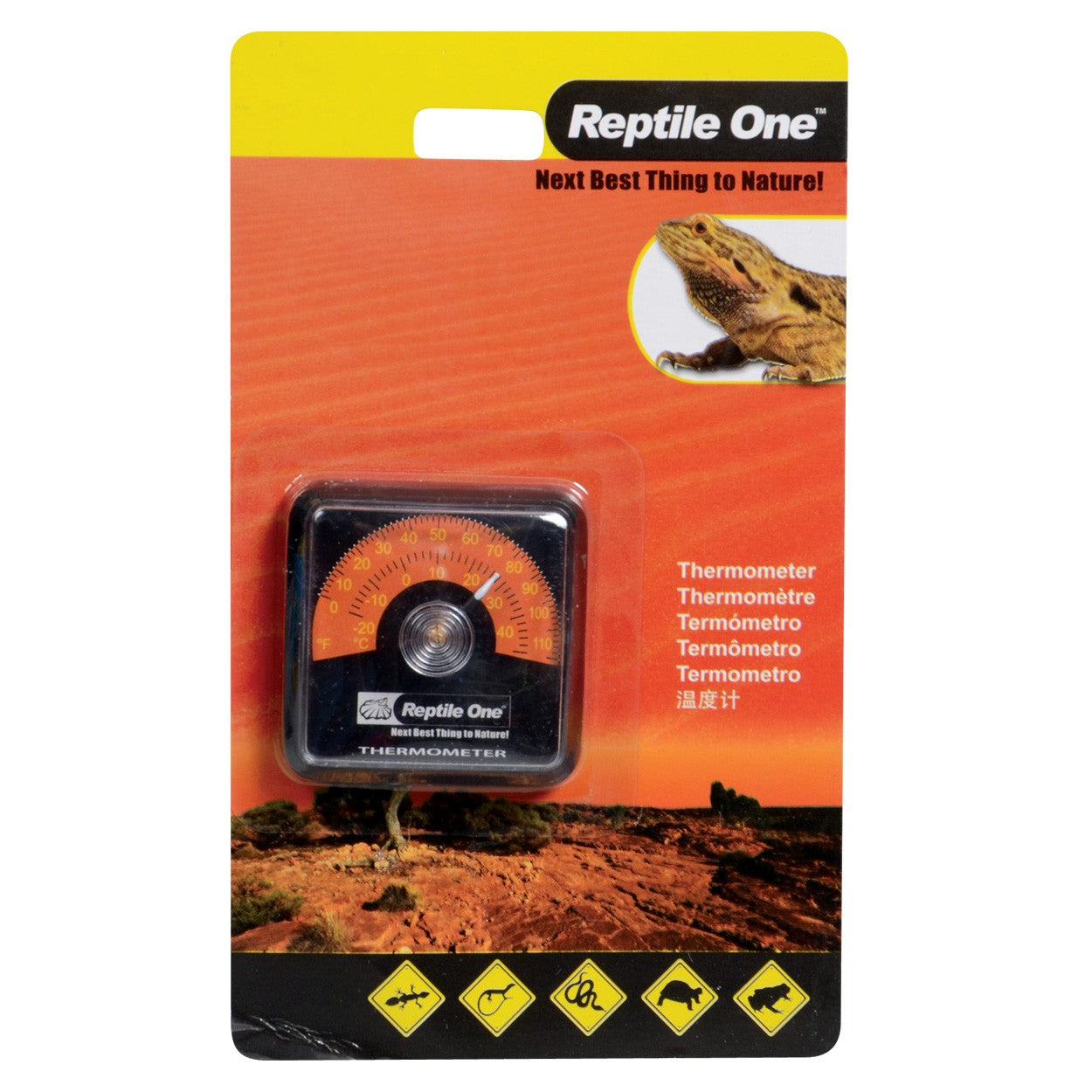 Reptile One Stick On Thermometer