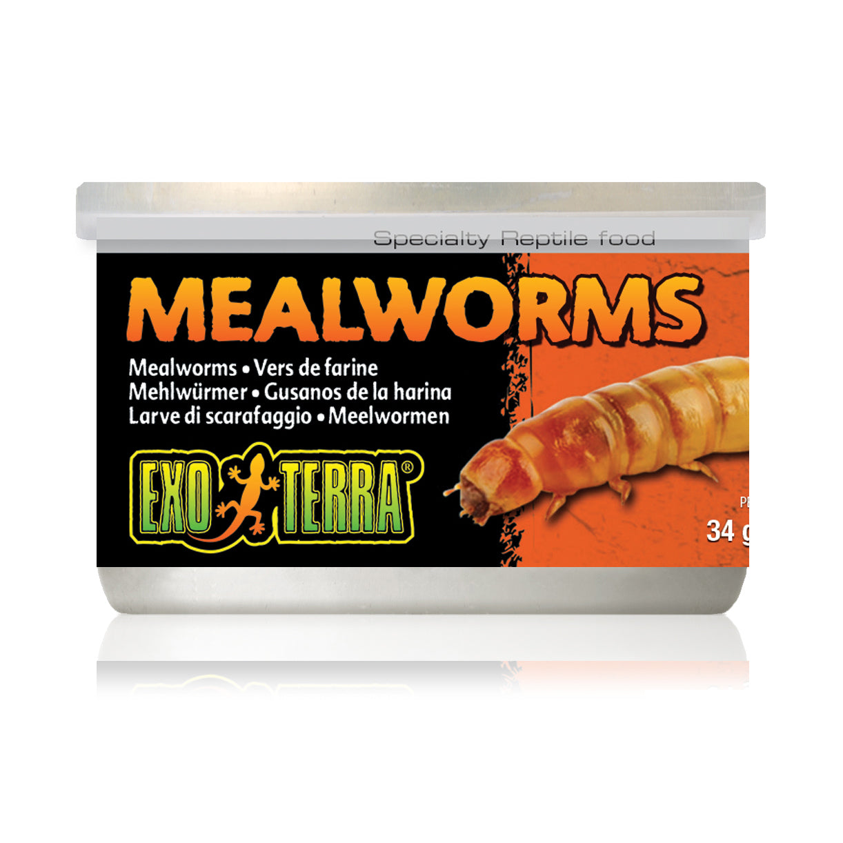 Exo Terra Mealworms Canned
