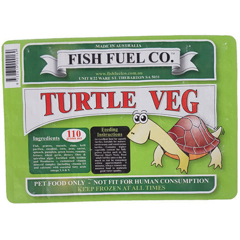 Turtle Food Veg - 110g Frozen