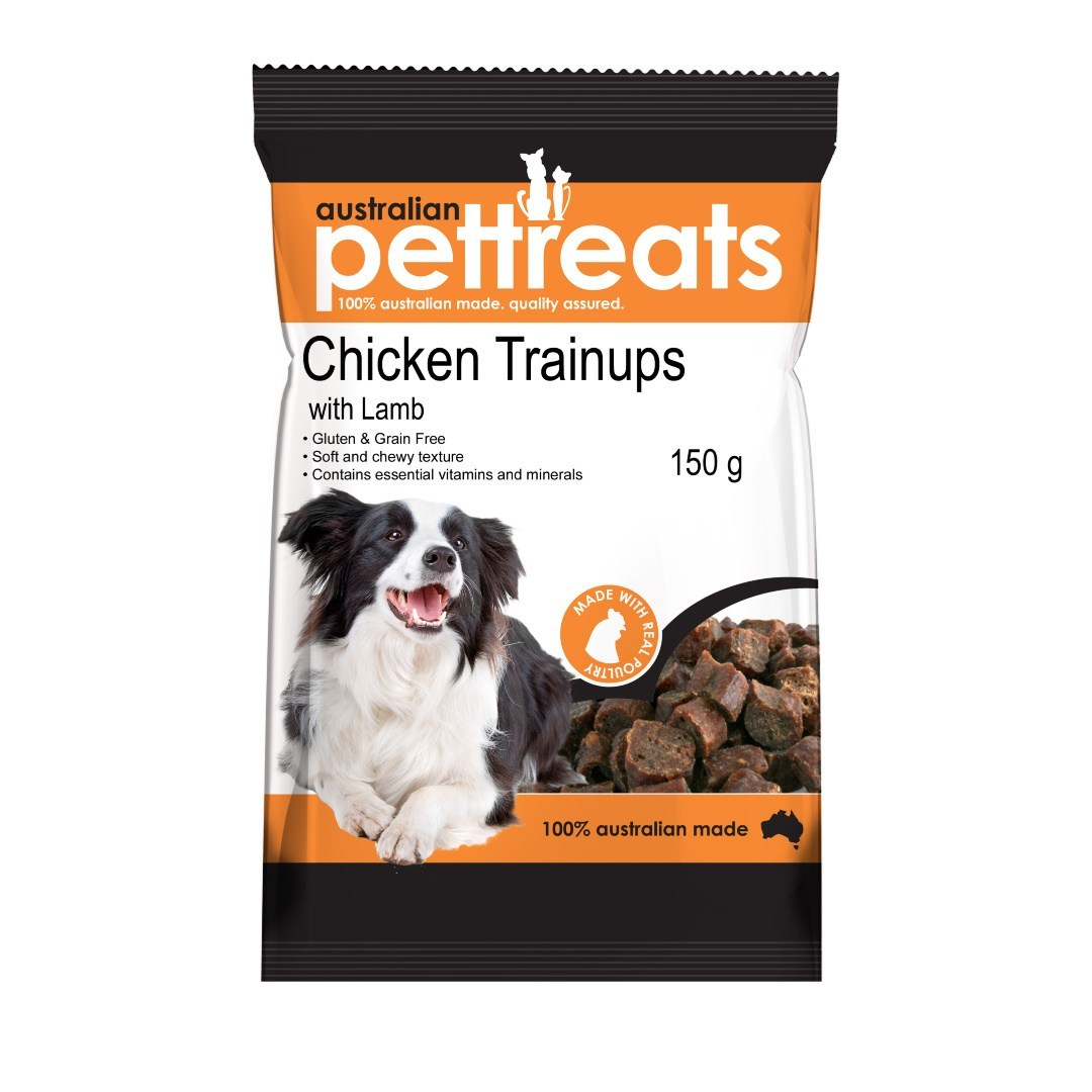 Australian Pet Treats Chicken & Lamb Trainups Dog Treat