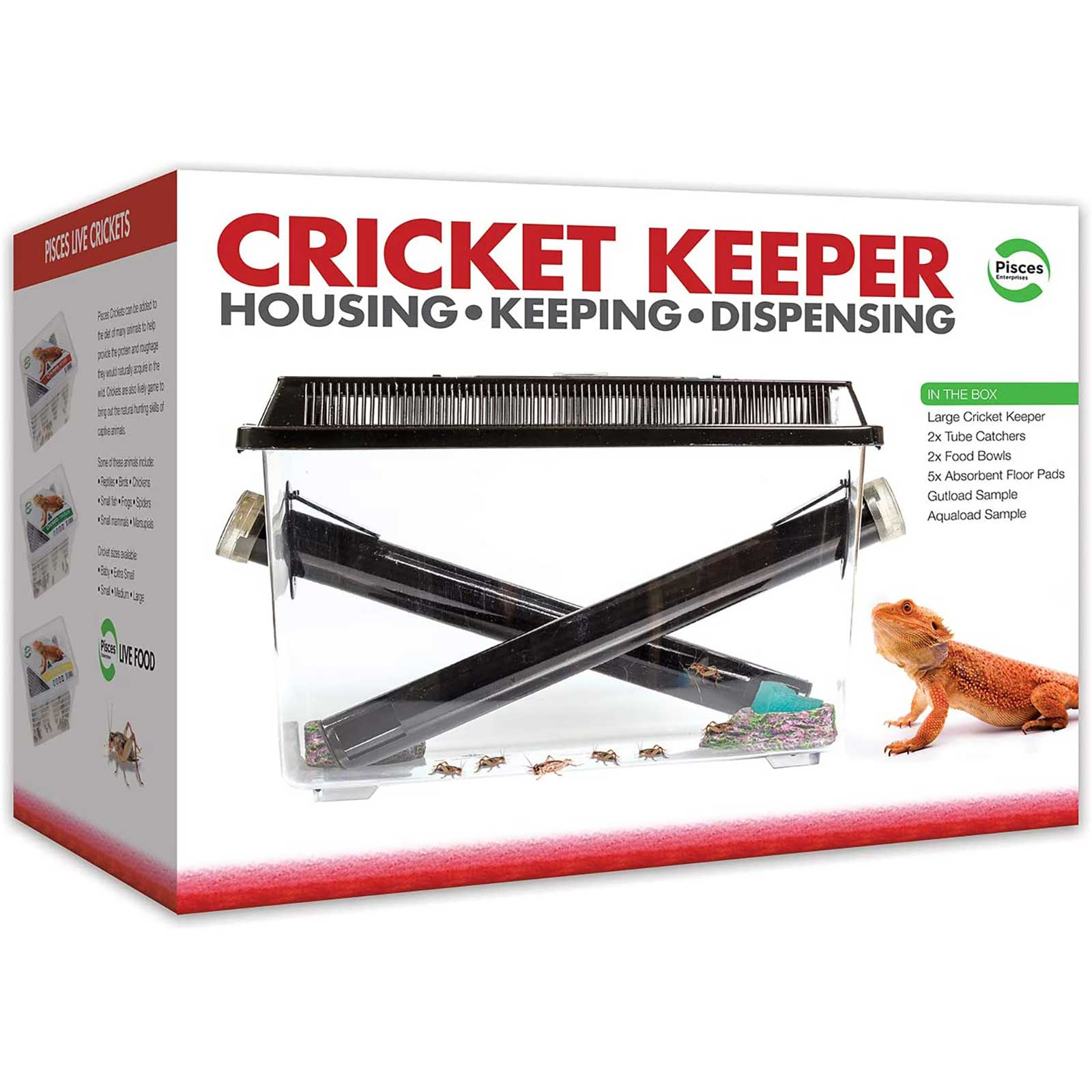Pisces Cricket Keeper Kit