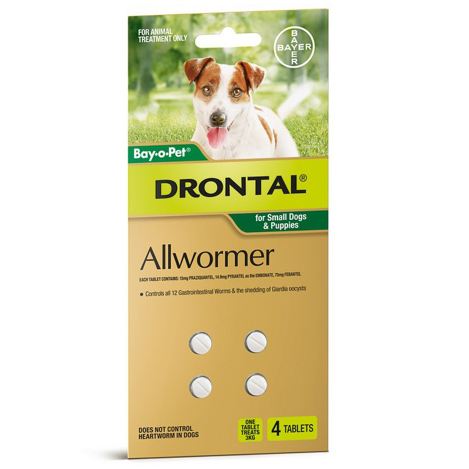 Drontal Worming Tablet for Dogs