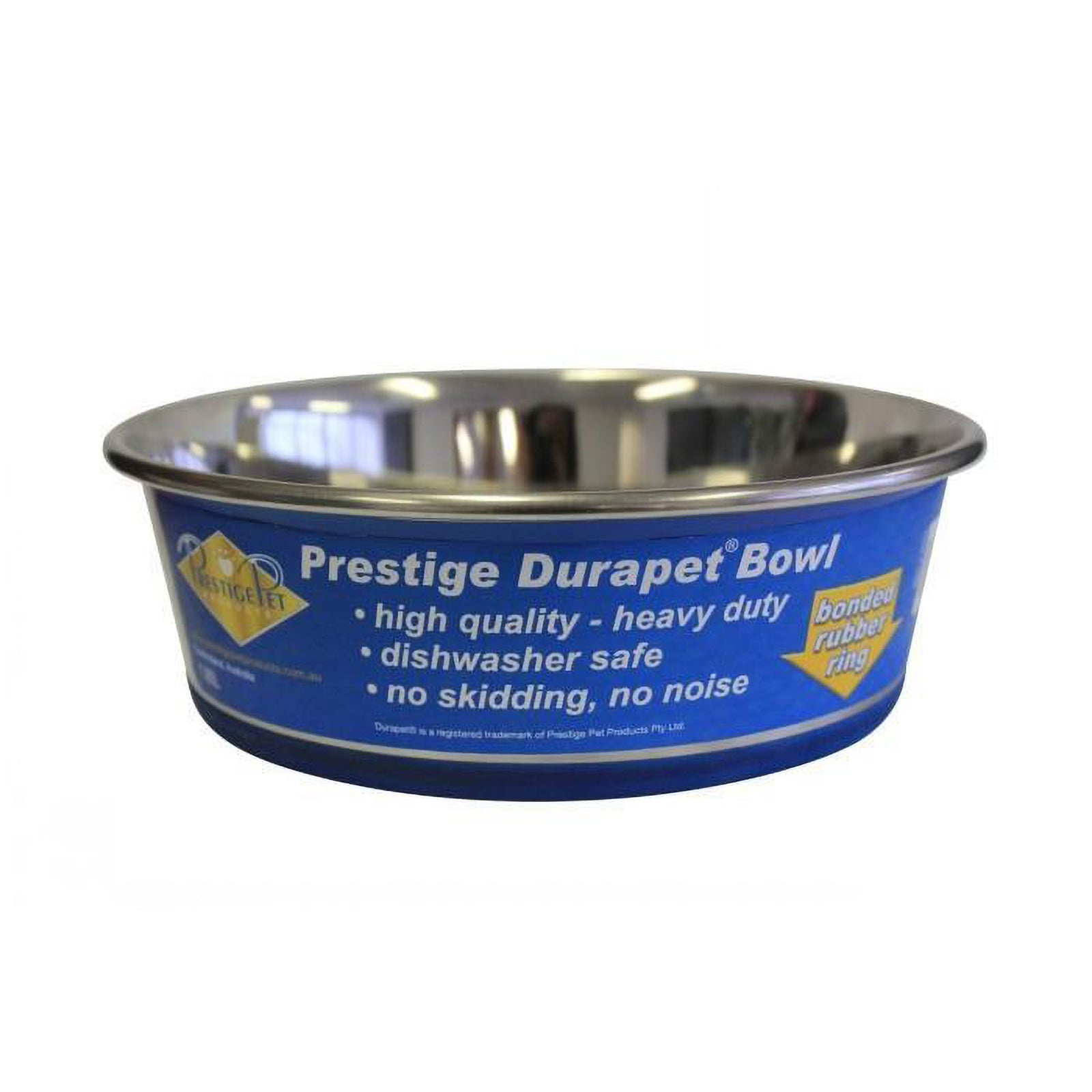Durapet Stainless Steel Non Slip Dog Bowl