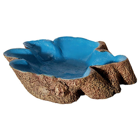Bowl Tree Stump Blue Lge
