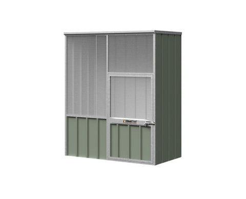 Flat Roof Junior Aviary- Zinc 0.78-0.78m