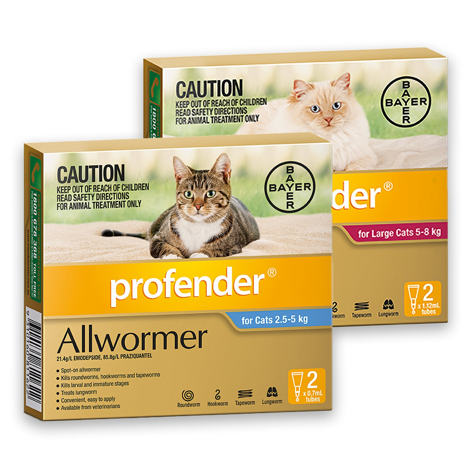 Profender for Cats