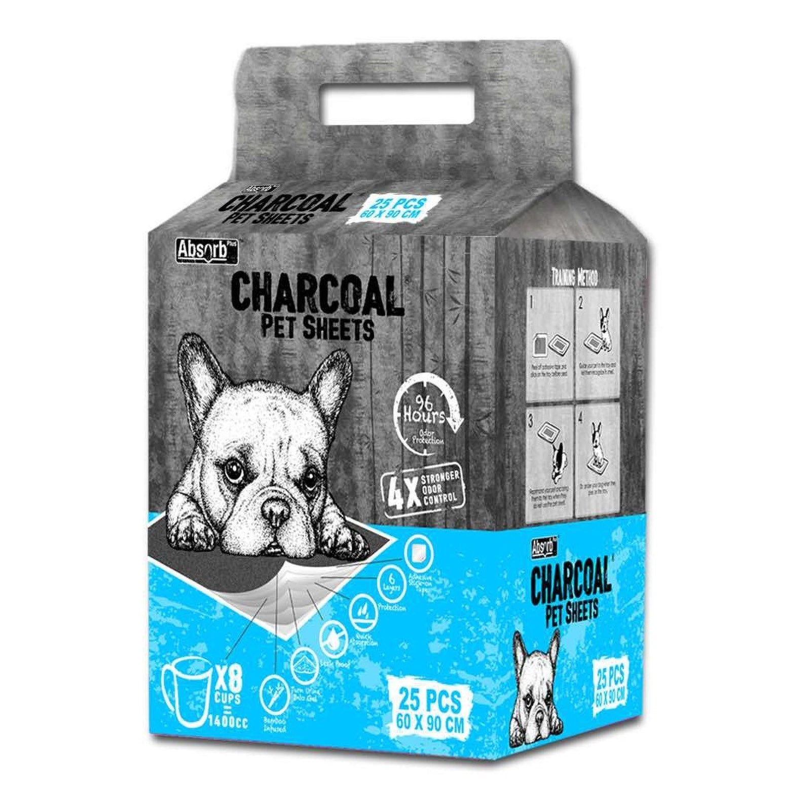 Absorb Plus Charcoal Pet Sheets