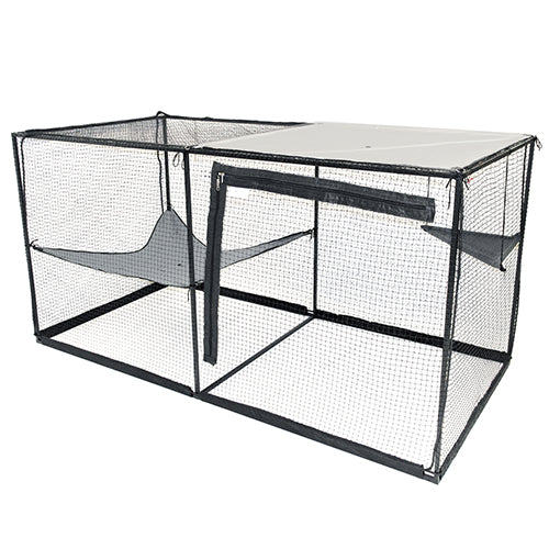 Animalistic Cat Cabana Floating Platform