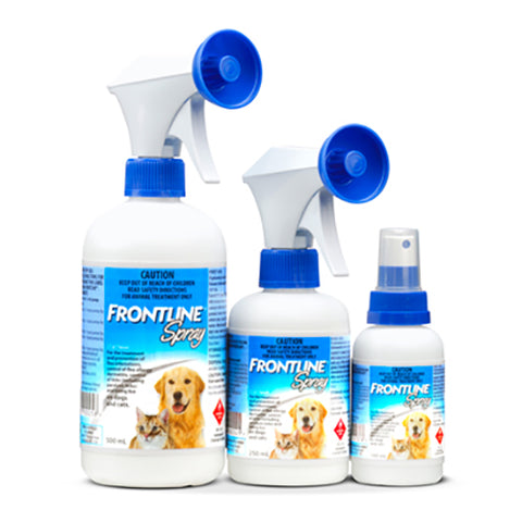 Frontline Flea and Tick Spray for Cats and Dogs