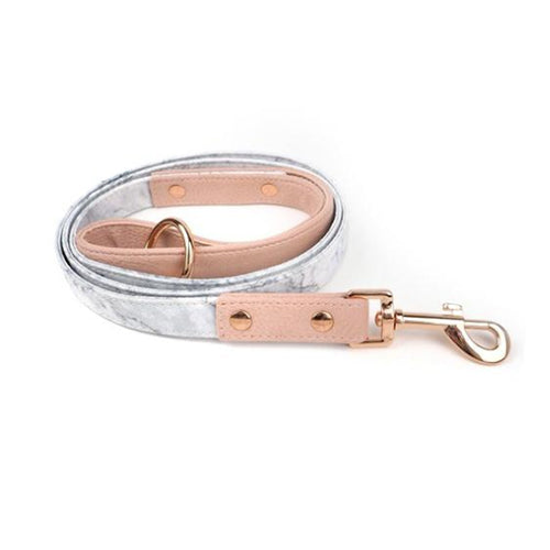 Pupstyle Dog Lead Marble Luxe