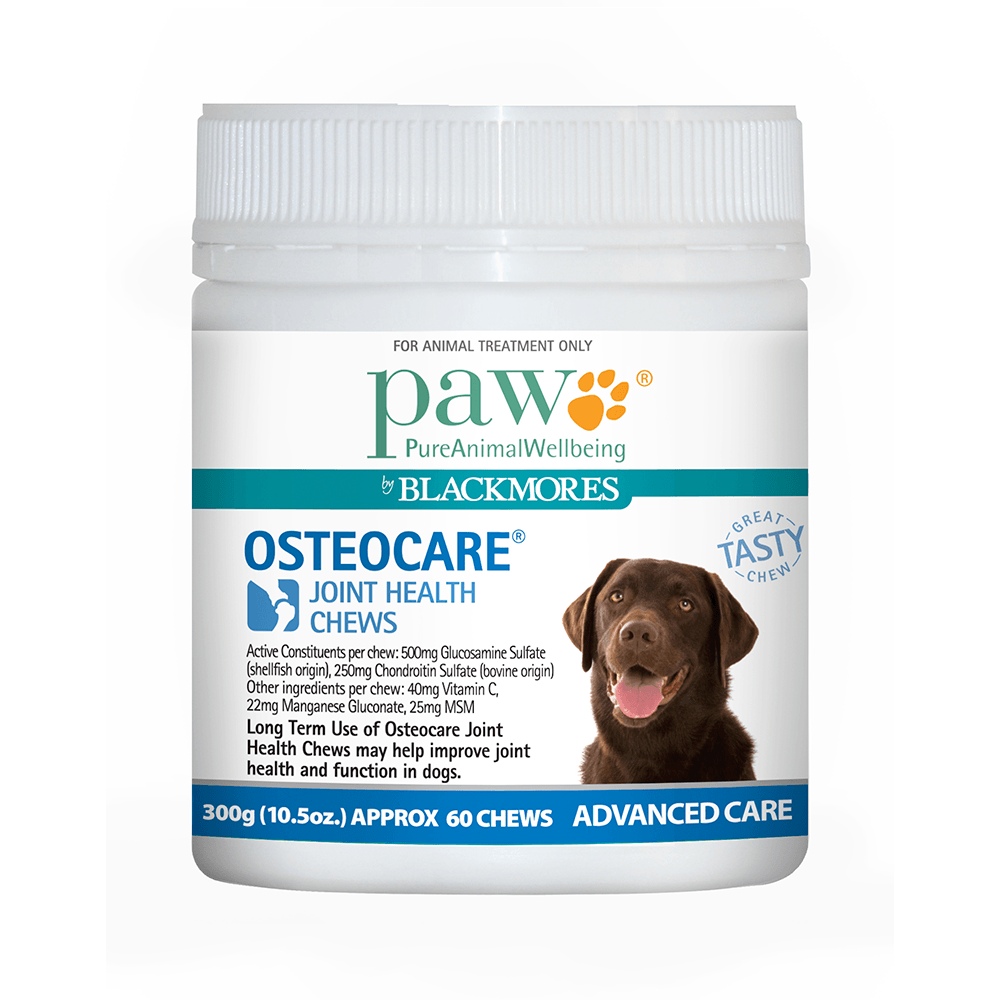 Blackmores PAW Osteo Care Dog Chews for Joint Health