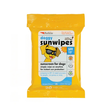 Doggy Sunwipes SP15 20pk