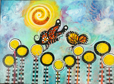 Intuitive Butterly Garden