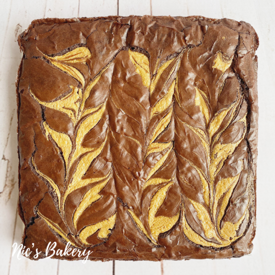 Peanut Butter Brownie Slab