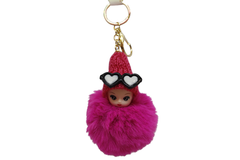 Baby With Glasses Cute Keychain & Bag Hanging