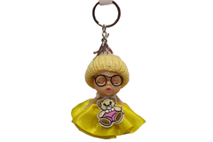 Baby Sleeping With Glasses Cute Keychain & Bag Hanging