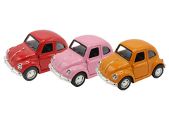 Pull Back Metallic Volkswagen Foxy Model Car (MC450)
