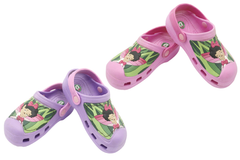 Dede Crocs Shoes Purple, Pink