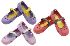 Cute Pumps/Crocs Shoes Purple, Red, Pink