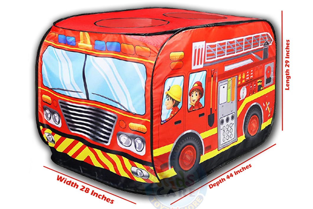 Fire Engine Truck Shaped Tent House (W545)