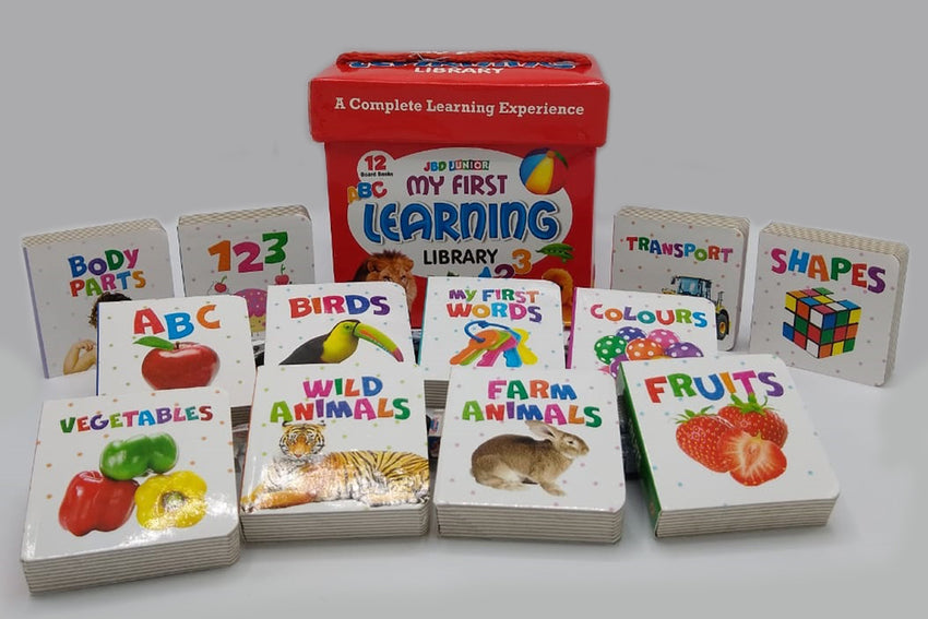 My First Learning Library 12 In 1 (Board Books)