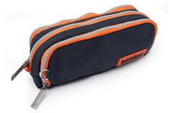 Bembel Stationary/Pencil Pouch Diablo Blue And Orange (100127)