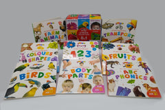 My First Learning Collection 8 In 1 (Board Books)