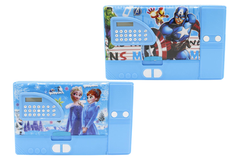 Avengers & Frozen Jumbo Pencil Box With Calculator (A14-3)