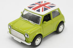 Pull Back Metallic Mini Cooper Model Car (MC450)
