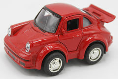 Pull Back Metallic Porsche Model Car (MC450)