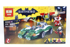 Bat Hero Batman The Riddler Riddle Racer Man-Bat Brick Building Block Toy (07059)