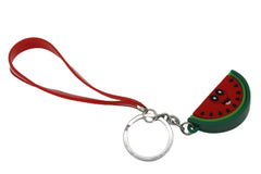 Watermelon Keychain & Bag Hanging With Red Bracelet