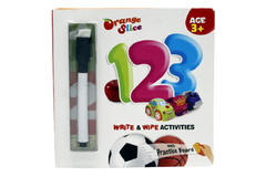 123 Write & Wipe Activities Board Book