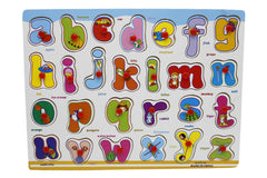 Wooden Abc Board Small Letters (DX590)