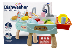 Kitchen Sink Dishwasher Basin Vegetables Toy Set (1110)