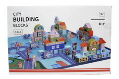 City Building Blocks 3 In 1 With Carpet (JM2912)