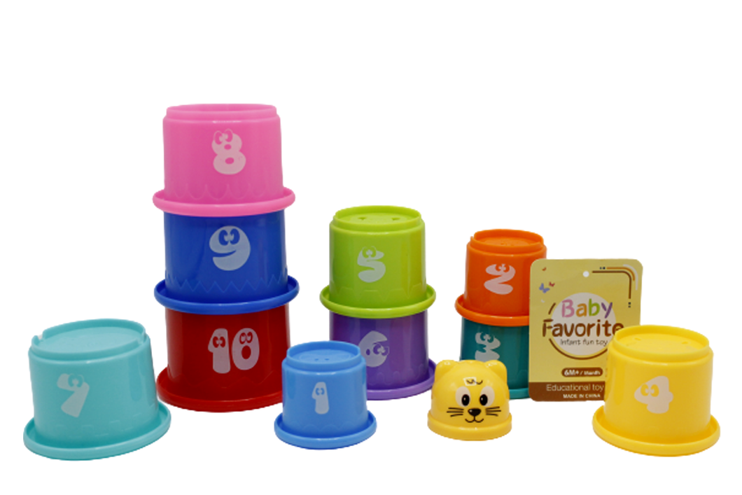 Stacking Cups Baby Toys (617)