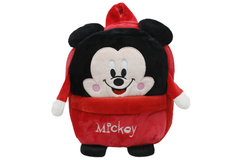 Mickey Mouse Red Stuffed Bag 9 Inches (CBN695)