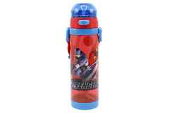 Avengers Red Water Bottle With Straw (NPC-600)