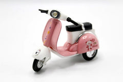 Vespa Pull Back Die Cast Metal Model