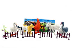 Farm Animal Rubber Set (Q901-6)