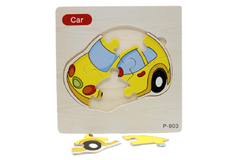 Wooden Car Puzzle Board (P-903)