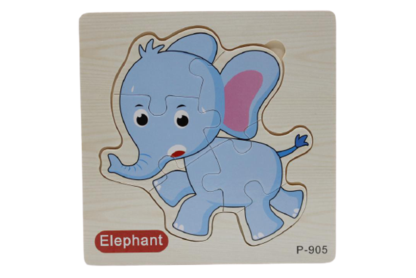 Wooden Elephant Puzzle Board (P-905)