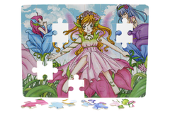 Wooden Princess Puzzle Board (M-009)