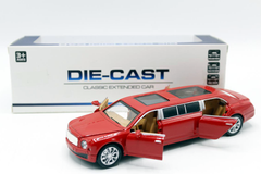 Limousine Pull Back Die Cast Metal Model (987-31)